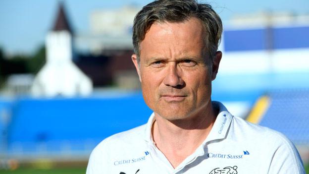Alex Miescher, Generalsekretär des Schweizerischen Fussbalverbandes.