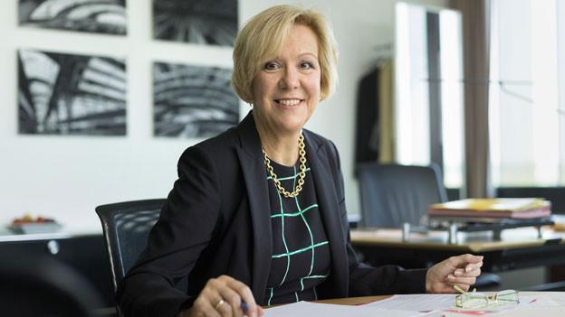SBB-Verwaltungsratspräsidentin Monika Ribar.