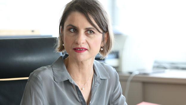 Sabrina Dallafior, UNO-Botschafterin der Schweiz.