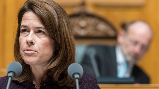 FDP-Präsidentin Petra Gössi. Die FDP will kein Acht-Milliarden-Gesamtpaket, das Kampfjets und Abwehrraketen zusammennimmt, sondern einzelne Beschaffungen.