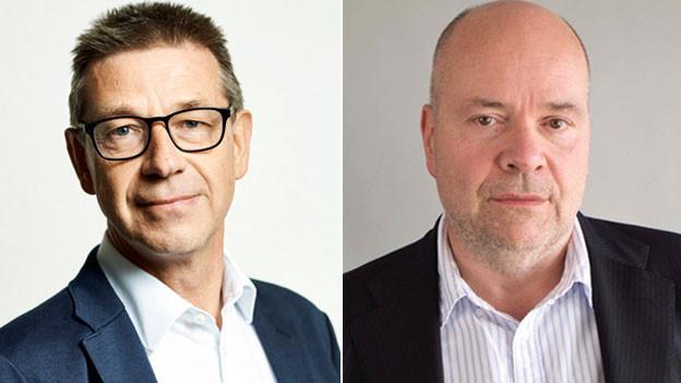 Matthias Egger (links) und Michael Hagner.