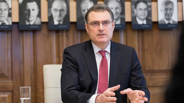 Thomas Jordan, Präsident des Direktoriums der Schweizerischen Nationalbank.