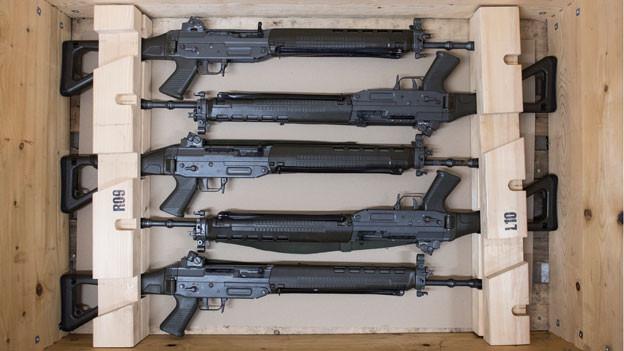 Kommen Schweizer Waffen in Kriegsländern zum Einsatz?