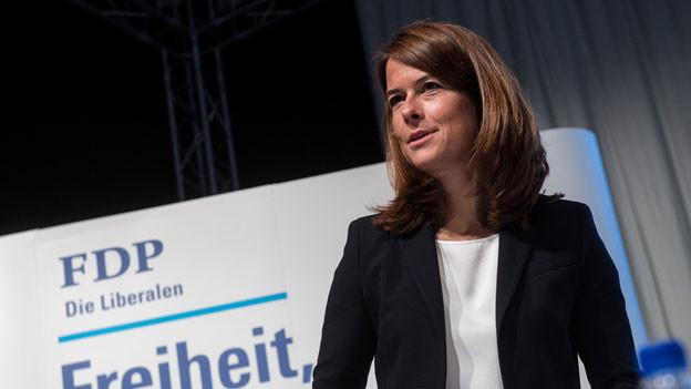 Petra Gössi, Parteipräsidentin FDP.