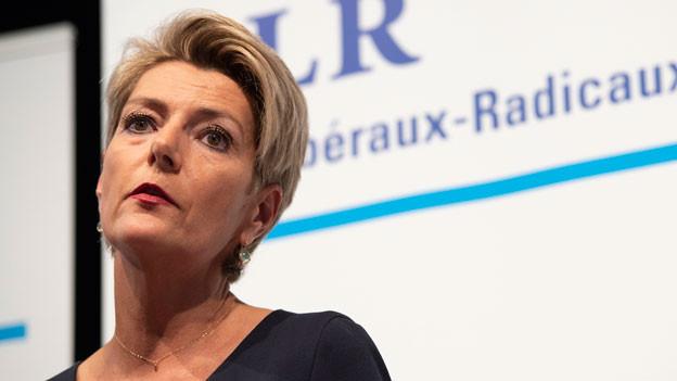 Die St. Galler Ständeratspräsidentin Karin Keller-Sutter.