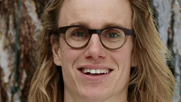 Sebastian Moos, Projektleiter bei Mountain Wilderness Schweiz.