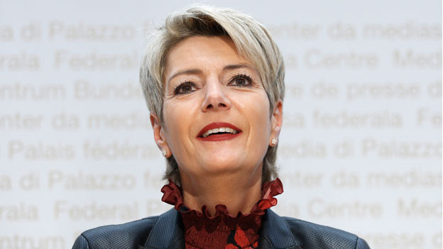 Karin Keller-Sutter: «Ich möchte nicht einfach nur die Frau sein».
