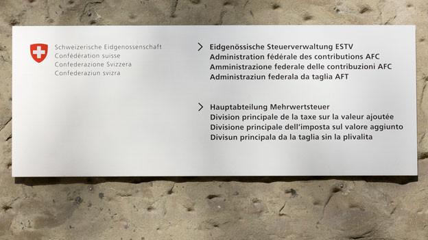 Die Eidgenössische Steuerverwaltung verfüge also ganz generell nur über zu wenig Datenmaterial.
