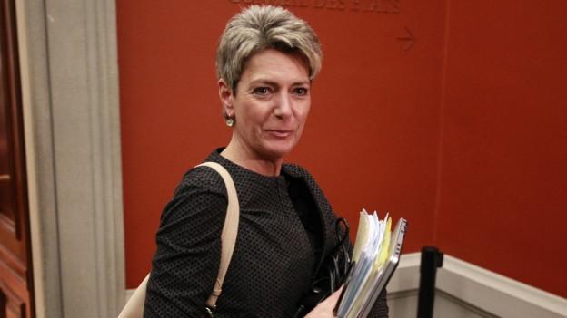 Bundesratskandidatin Karin Keller-Sutter.