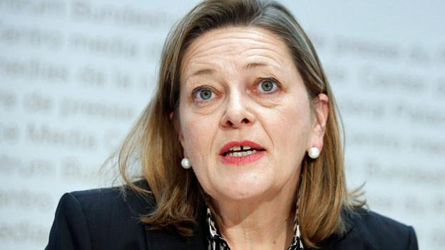 Heidi Z'graggen hat noch eine Woche Zeit, um bis zur Bundesratswahl die Mitglieder der eidgenössischen Räte von sich zu überzeugen.