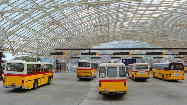 Postauto-Station in Chur.