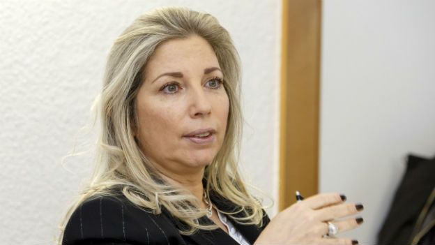 Finanzministerin Nathalie Fontanet