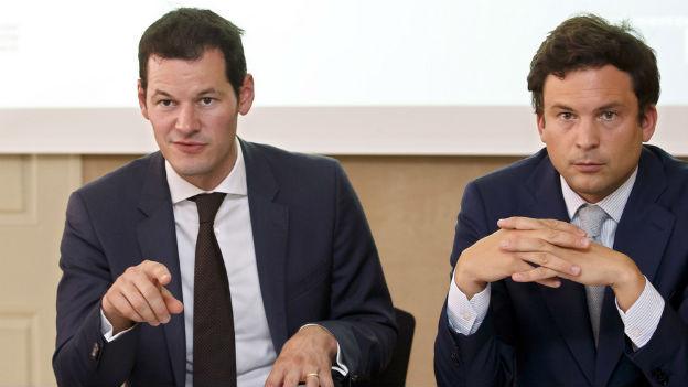 Pierre Maudet und Guillaume Barazzone