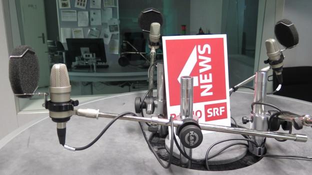 Das Studio der «Freitagsrunde» ist leer