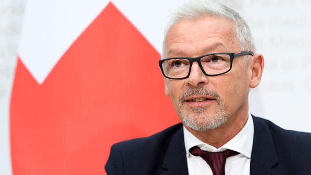 Regierungsrat Martin Klöti (SG), Präsident der Konferenz der kantonalen Sozialdirektorinnen und Sozialdirektoren (SODK).