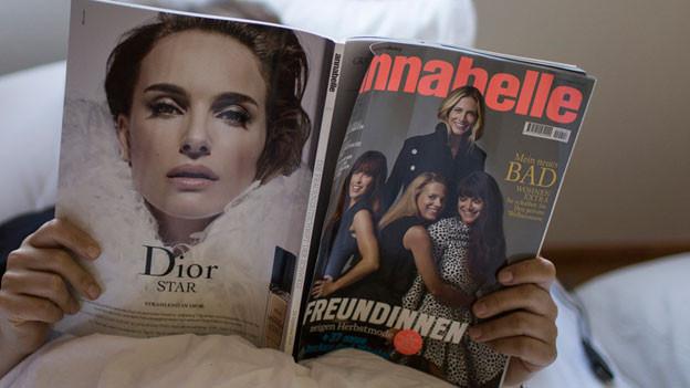 Die Frauenzeitschrift Annabelle.