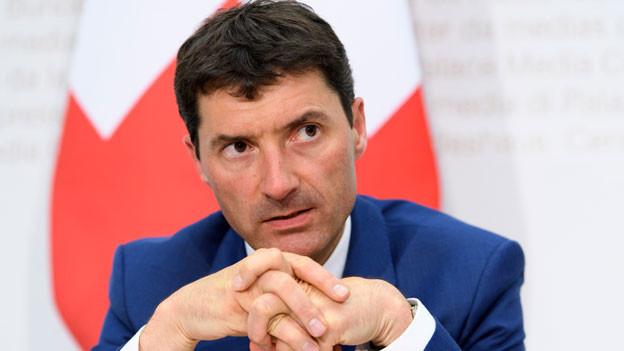 Jörg Gasser, Chef des Staatssekretariats für internationale Finanzfragen (SIF).