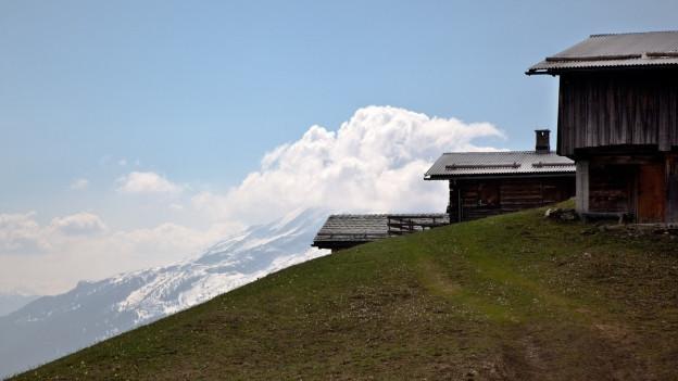 Maiensäss im Kanton Graubünden