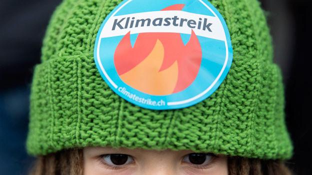 An der Klimademonstration vom 2. Februar 2019 in Bern.