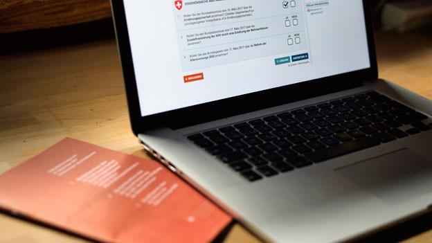 E-Voting Plattform.