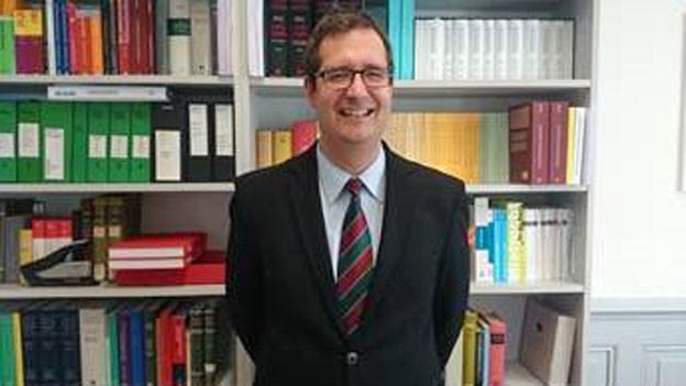 Stefan Keller, Oberrichter des Kantons Obwalden.