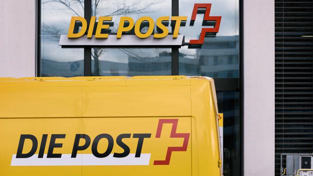 Gewinneinbruch bei der Post.