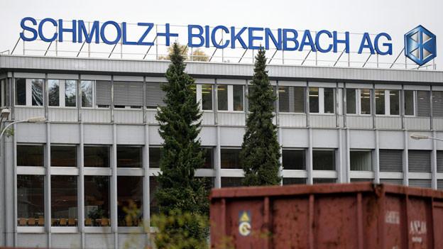 Der Stahlkonzern aus Luzern ist mit seinen über 10'000 Mitarbeitern weltweit gleich doppelt von den Stahlzöllen betroffen.