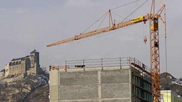 Baubranche einmal mehr im Fokus der Weko. Symbolbild.