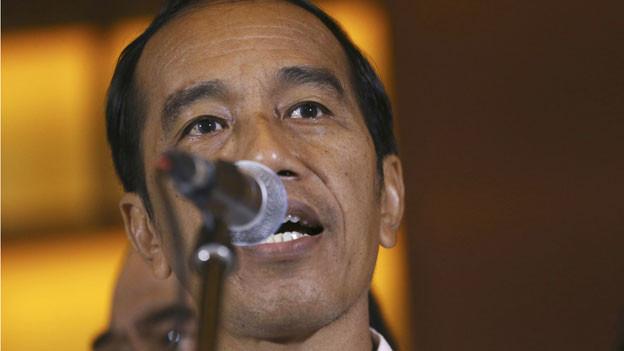 Joko Widodo bleibt Präsident Indonesiens.