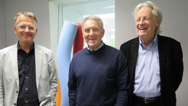 Thomas Meier, Ruedi Aeschbacher, Thomas Held (v.l.n.r.)