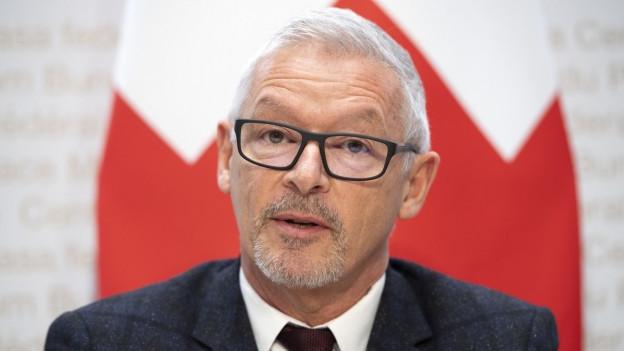 Das Bild zeigt den St.Galler FDP-Regierungsrat Martin Klöti.