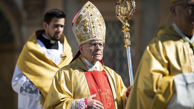 Vitus Huonder ist nicht mehr Bischof von Chur.
