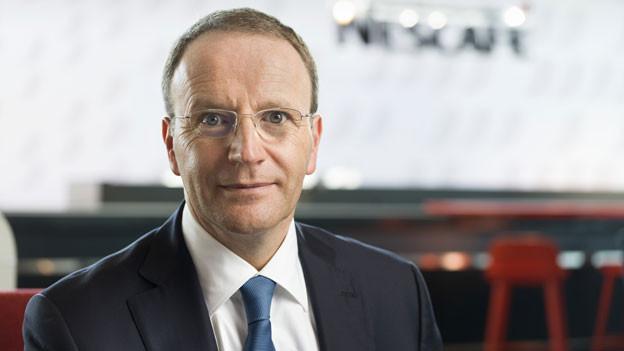 Mark Schneider, Chef Nestlé.