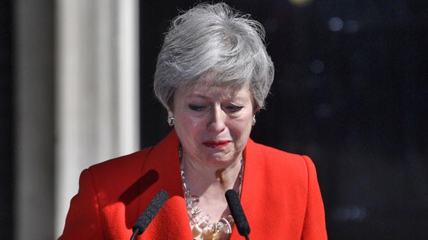 Premierministerin Theresa May tritt zurück.