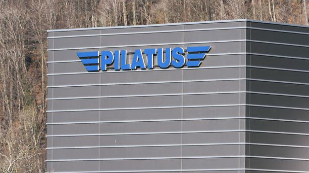 Der Firmensitz der Pilatus Aircraft AG in Stans im Kanton Nidwalden.
