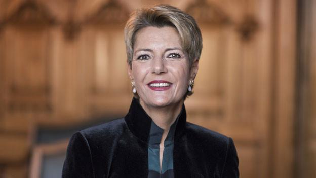 Bundesrätin Karin Keller-Sutter.