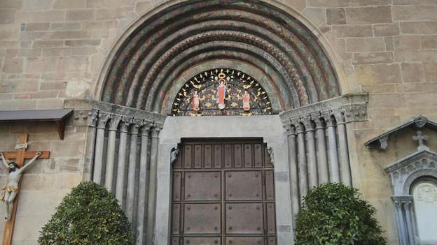Der Dom des Bistums Chur.