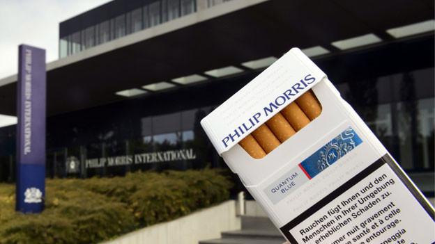 Das internationale Hauptquartier vom Tabakkonzern Philip Morris in Lausanne.