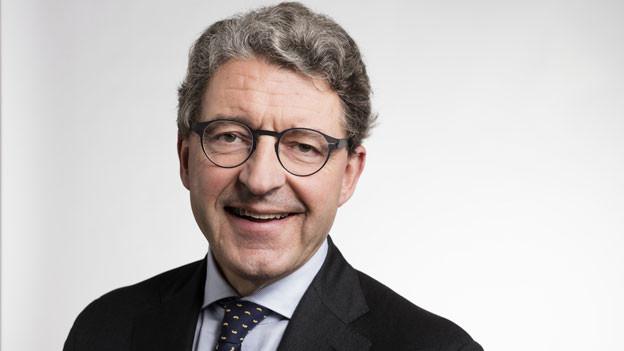 Heinz Brand, Präsident santésuisse und SVP-Nationalrat.