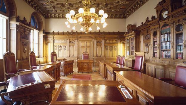 Symbolbild. Das Bundesratszimmer im Bundeshaus.