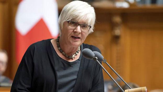Rosmarie Quadranti, Zürcher Nationalrätin und Fraktionschefin der BDP.