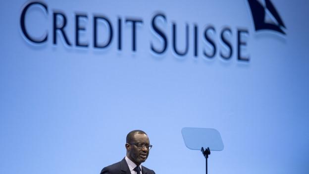 Credit Suisse CEO Tidjan Thiam.