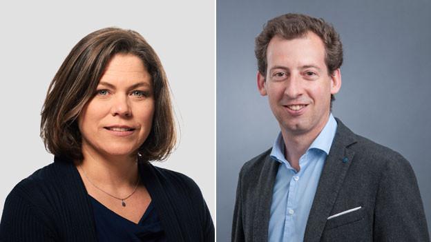 Michelle Beyeler und Nicolas Galladé.