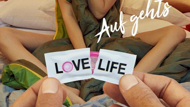 Neue Love-Life-Kampagne des Bundes.