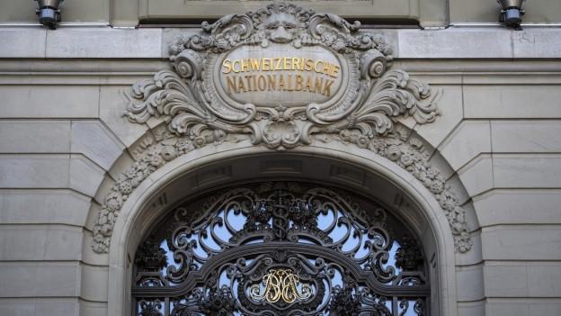 Die Schweizerische Nationalbank SNB in Bern.