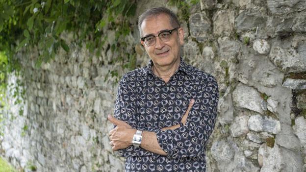 Der Schweizer Filmemacher, Filmproduzent und Regisseur Samir.