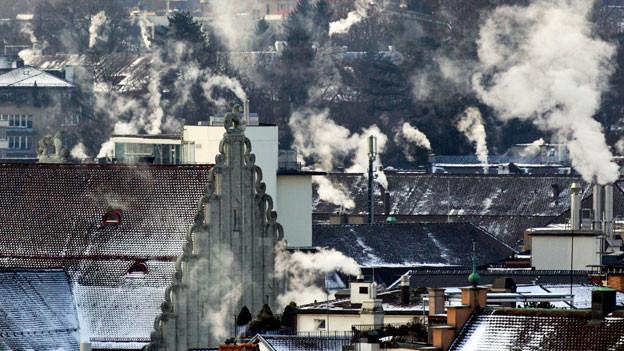 Wie und wie stark kann und will die Schweiz den Ausstoss von Treibhausgasen senken?