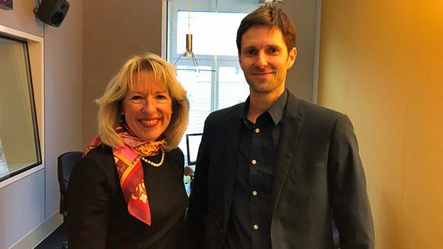 FDP-Nationalrätin Jacqueline de Quattro und der Grüne Nationalrat Kilian Baumann.