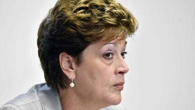 Silvia Steiner, Präsidentin der kantonalen Bildungsdirektoren.