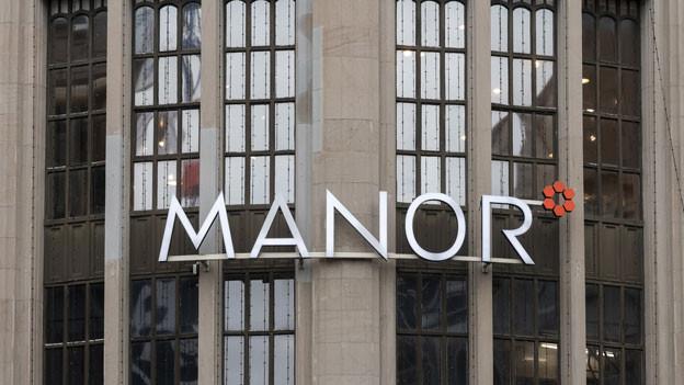 Das Manor-Warenhaus in Zürich.